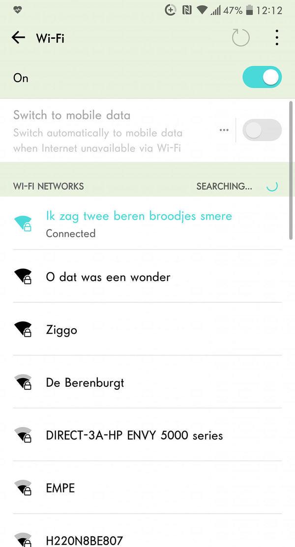 Default wifi7