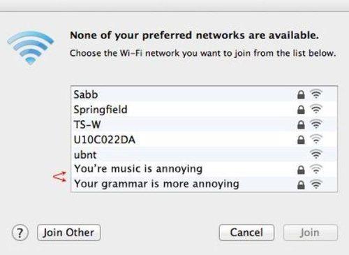 Default wifi12