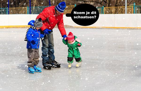 Default schaatsen