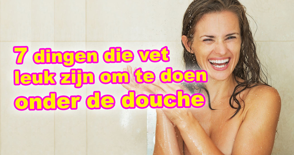 Grote lul in douche