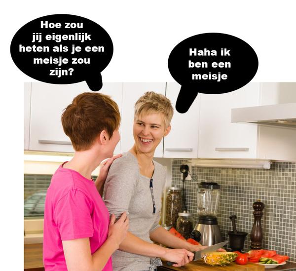 Meisje op meisje lesbo