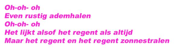 songteksten nederlands