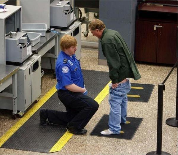 Default airport security check moments 1