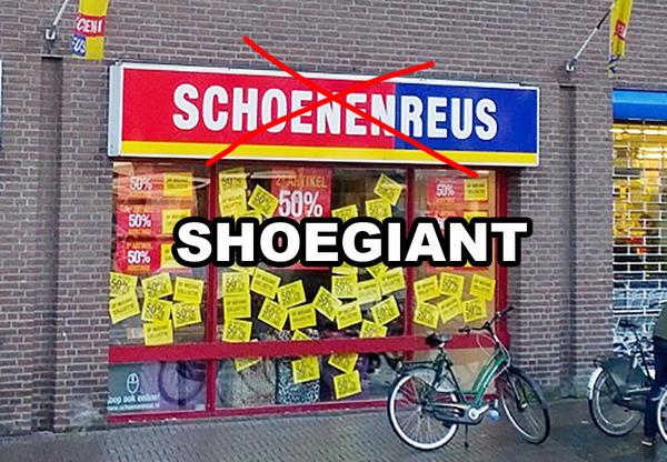 Default schoenenreus