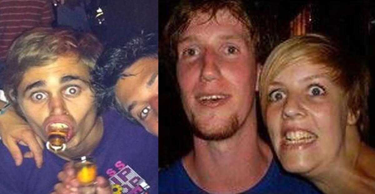 16 mensen die alle groepsfoto's verzieken omdat ze niet kunnen poseren